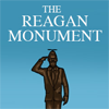 the Reagan monument