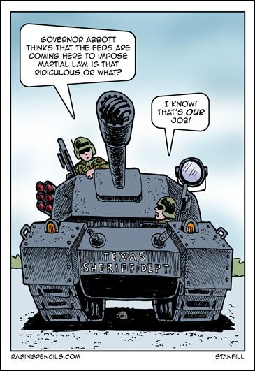Martial law in texas