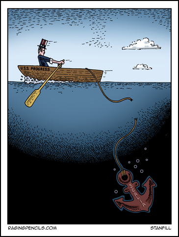 The progressive web comic about Antonin Scalia.