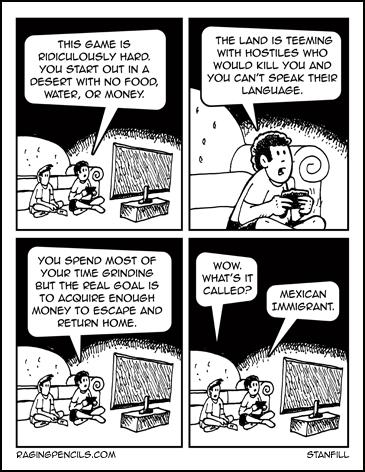 The progressive web comic about Mexican immigrants.