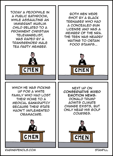 The progressive web comic about conservative hypocrisy