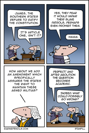 The progressive web comic about the history of the Second Amendment