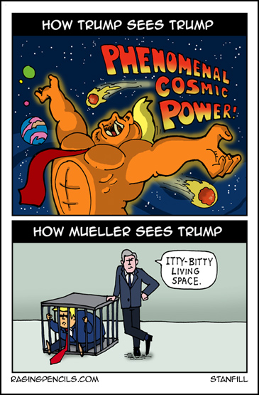 The progressive web comic about Trump's delusions of grandeur.